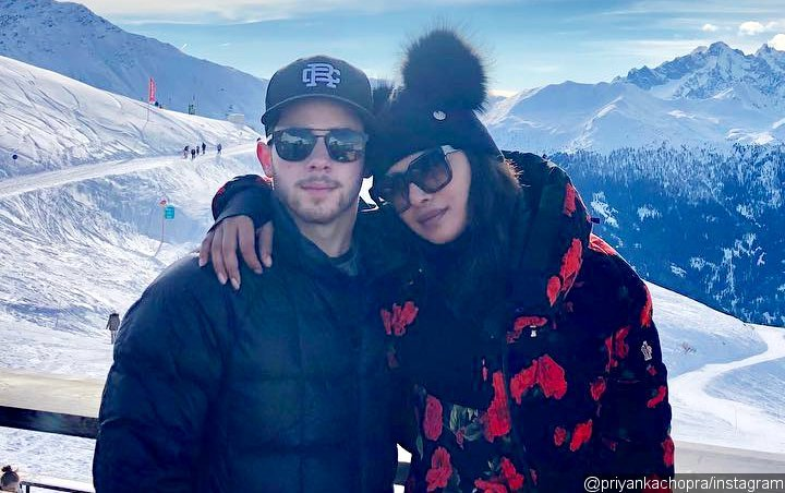 Nick Jonas and Priyanka Chopra Join Family Vacation in Swiss Alps