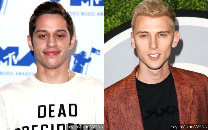Pete Davidson Is Having 'Weird Times' Post-Suicidal Note, According to Machine Gun Kelly