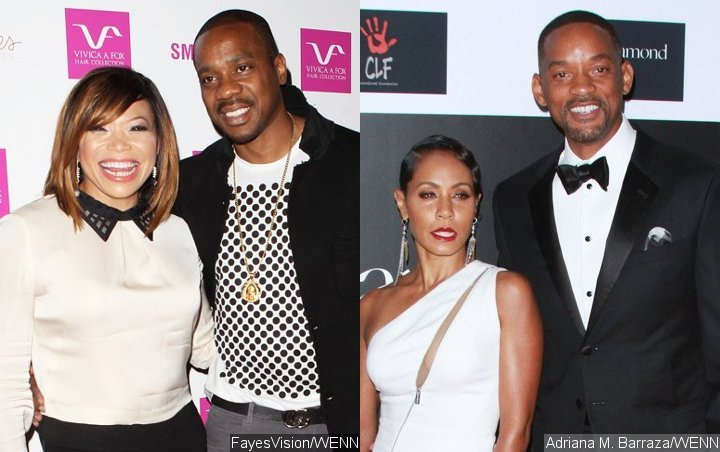 Tisha Campbell's Estranged Husband Involves Will and Jada Pinkett-Smith in Alleged Bankruptcy Scam