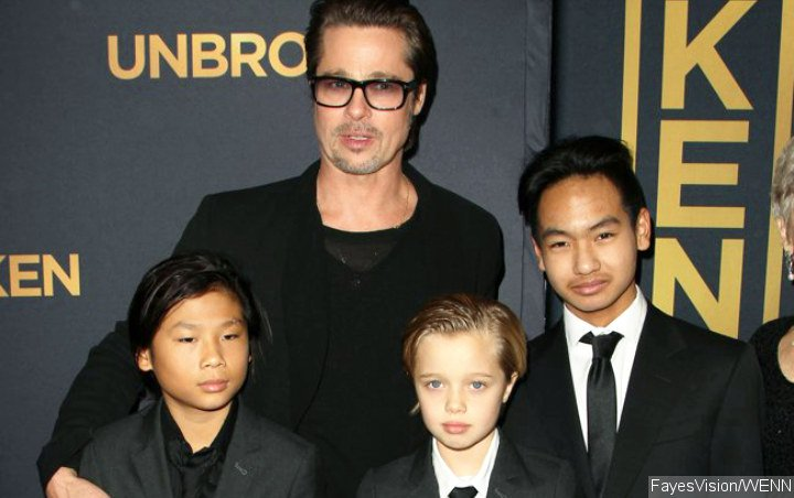 Brad Pitt's Kids Didn't Send Him Birthday Wishes, But Did Spend the Day With Him
