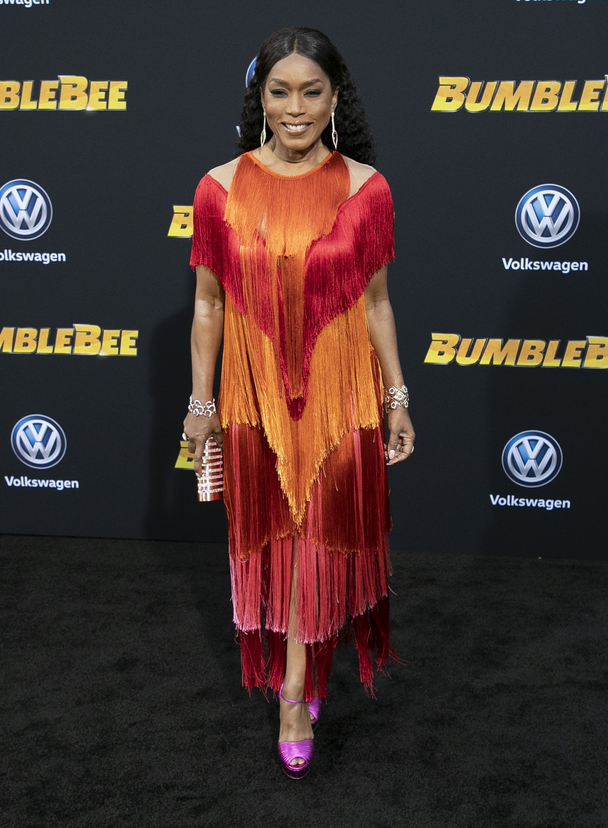 """Angela Bassett's Goal With Her Unexpected New Role Was To """"Have As Much Fun"""" As Possible"""