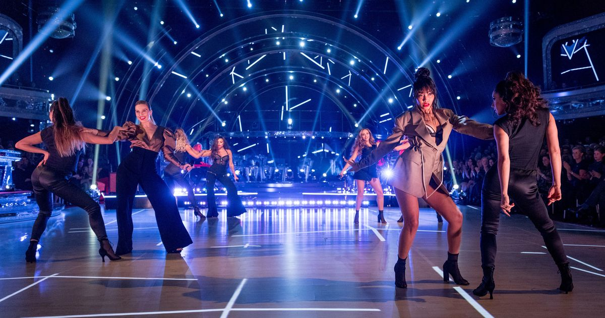 Little Mix's sexiest performance yet in powerful Strictly all-female dance