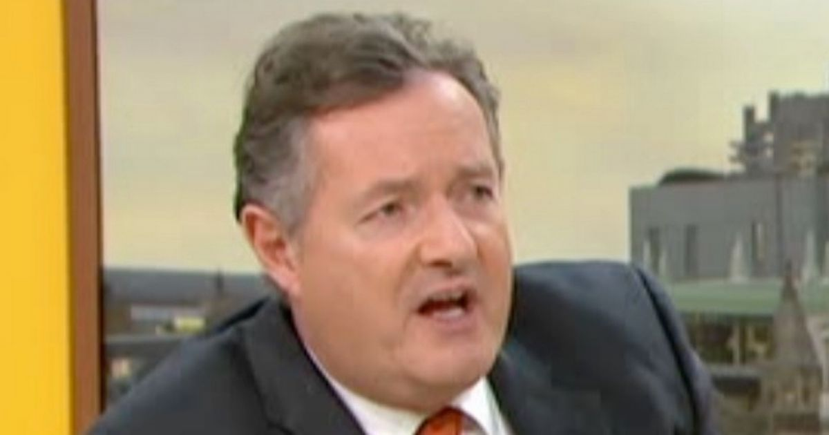 Piers Morgan shouts down feminist over Christmas song lyrics in brutal row