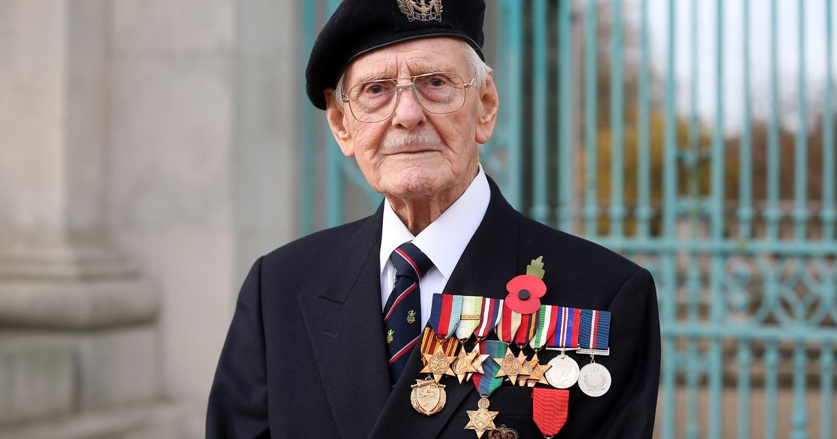War veteran performs with Alfie Boe on TV to realise singing dream aged 98