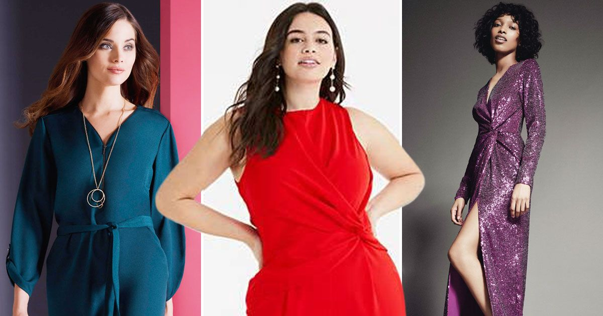 How to wear jewel colours with slimming tricks for over Christmas