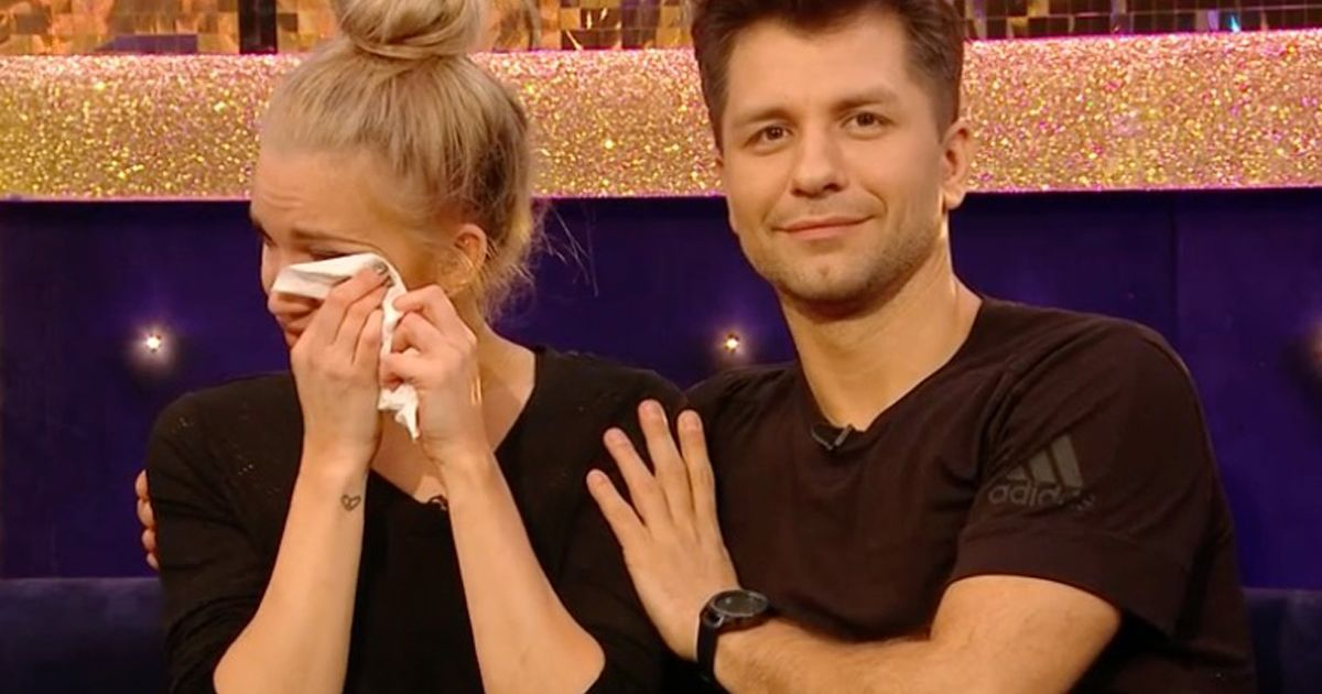 Strictly's Ashley cries as mum says dad would have been loved to watch her dance
