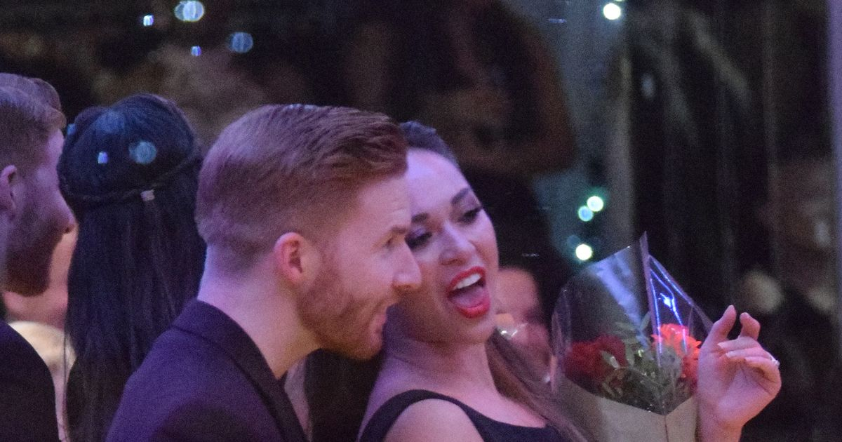 Strictly's Katya Jones back on form with hubby Neil after Seann Walsh kiss shock