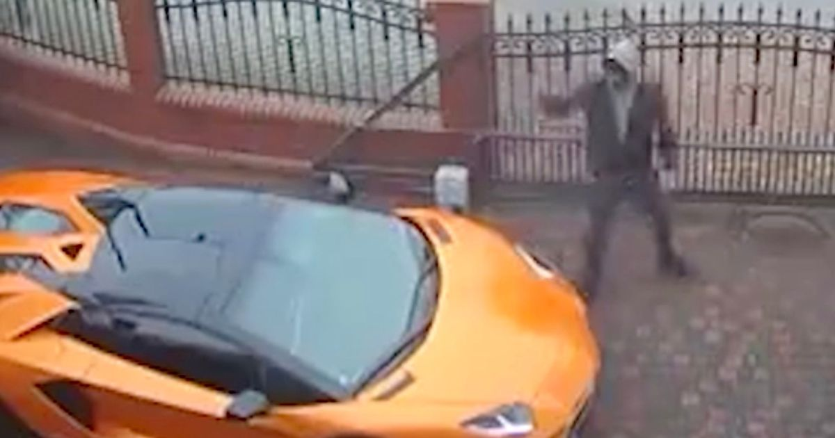 Vandal keys £270k Lamborghini Aventador as it sits on owner's driveway