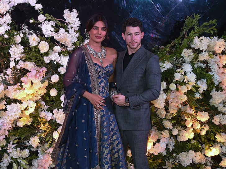 Priyanka Chopra and Nick Jonas Return to India For More Wedding Receptions