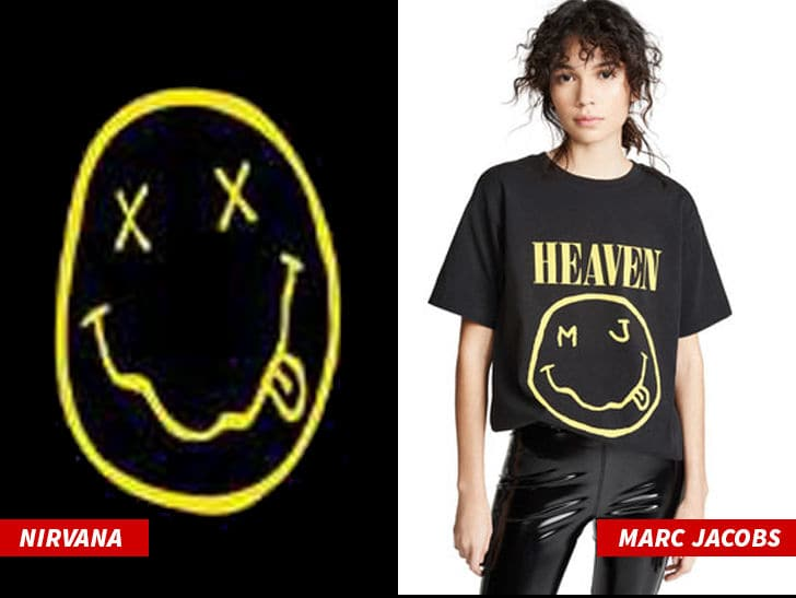 Nirvana Sues Marc Jacobs for Stealing Smiley Face Design