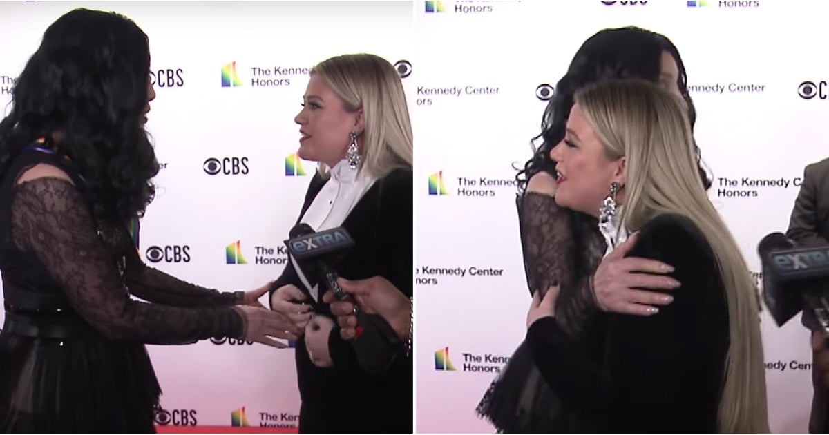 Kelly Clarkson Had a Hard Time Saving Up All Her Joy When Meeting Cher For the First Time
