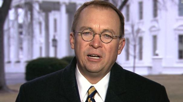 Mick Mulvaney Draws Short Straw, Becomes Donald Trump's Acting Chief Of Staff