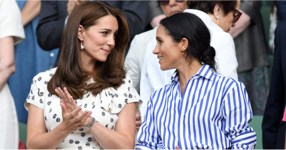 Meghan Markle and Kate Middleton Are Friends, and I'd Rather Not Hear Otherwise