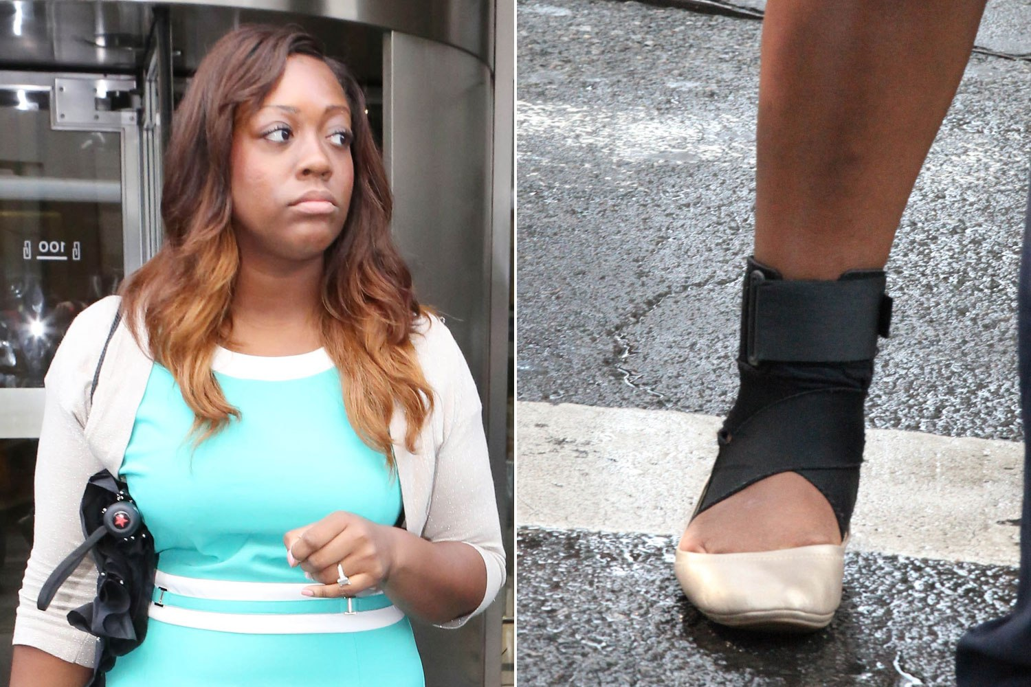 Sharpton's daughter gets $95K settlement for sprained ankle