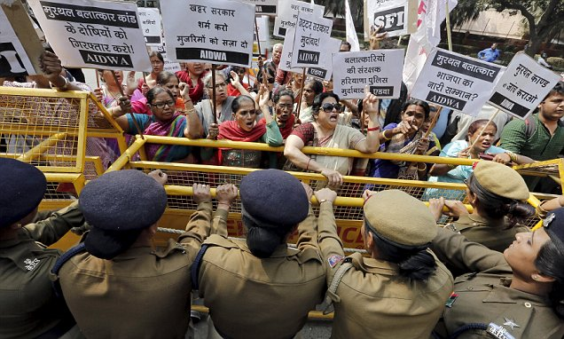 Girl, 3, raped in India as country marks anniversary of bus gang-rape