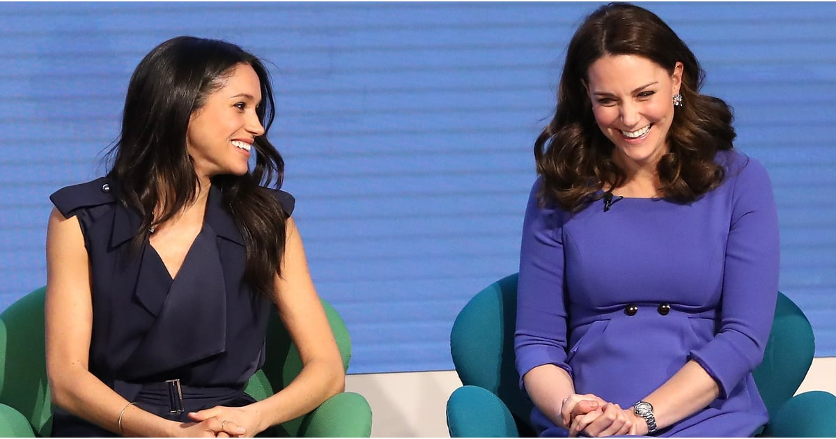 10 of Kate Middleton and Meghan Markle's Cutest Sister-in-Law Moments