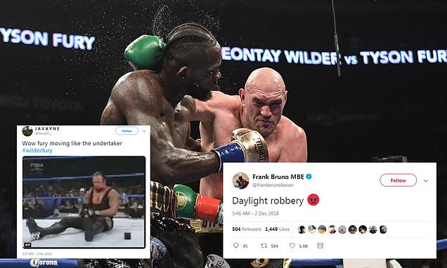 Tyson Fury stuns fans with comeback from brutal knockdown