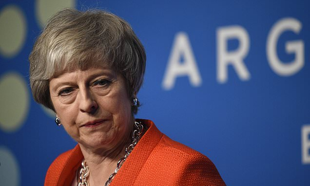 May vows to cling on despite facing a HUGE Commons defeat over Brexit