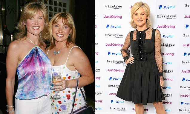 TV presenter Anthea Turner 'cuts off contact with sister in debt row'