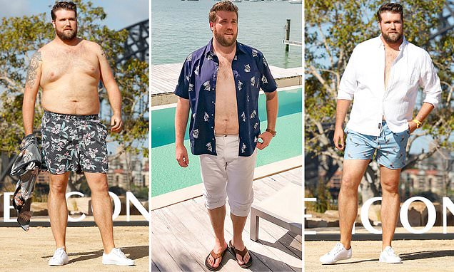 World's first male plus-size model recalls moment he was poached