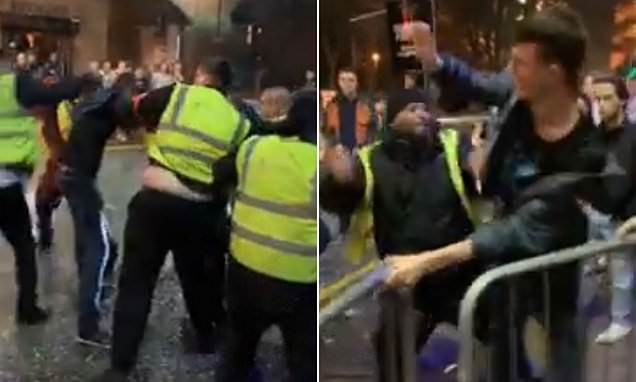 Bouncers launch violent attack outside Manchester nightclub