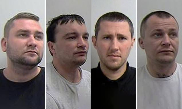 Latvian gang who tricked people to come to UK then forced them to work