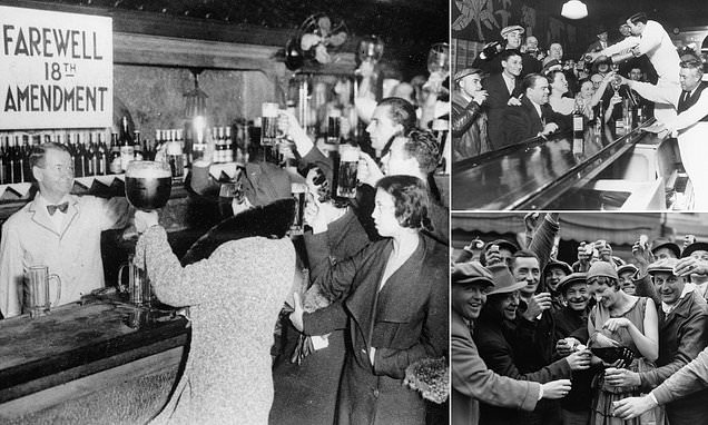Cheers! 85 years since Prohibition was repealed