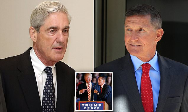 BREAKING: Mueller gives Flynn a pass and says he should get NO PRISON