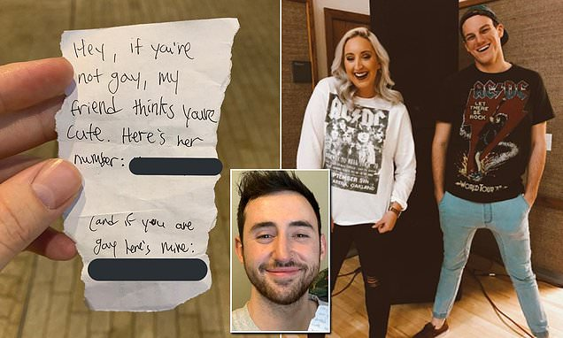 Guy's tweet goes viral after man and woman friends both ask for date