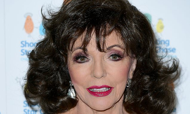 Joan Collins reveals 'trans moment' when she dressed in Dad's clothes