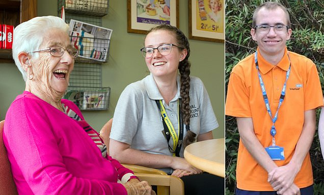 Graduates who signed up as NHS volunteers to give something back