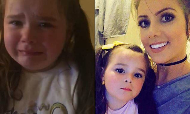 Irish girl, four, cries when told she'll spend Christmas homeless