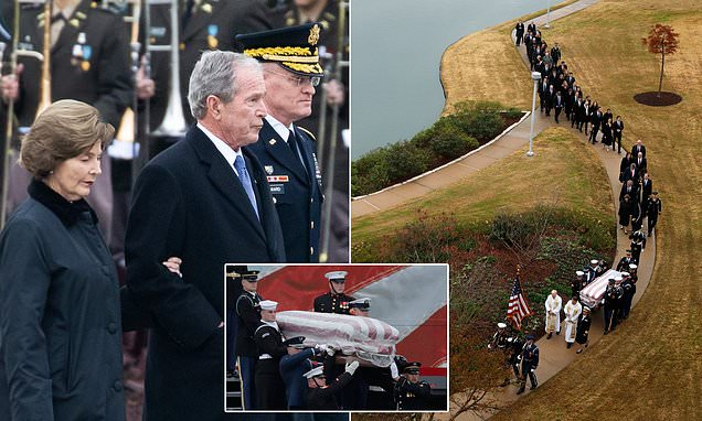 George H.W. Bush has finally been laid to rest in Texas