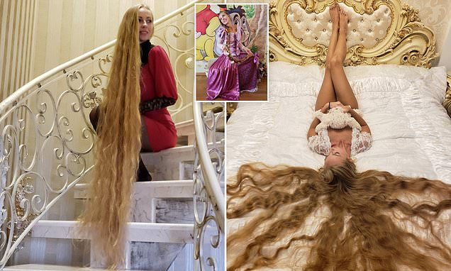 Real-life Rapunzel who hasn't had a haircut in 28 YEARS