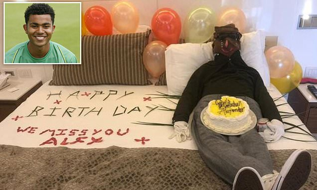 Jamaican TUI hotel staff create effigy of British couple's dead son