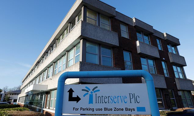Interserve shares drop by 75 per cent