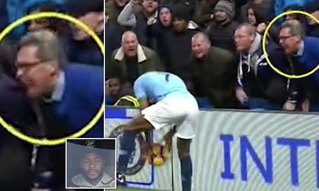 Hunt for Chelsea fan who 'called Raheem Sterling a black c***'