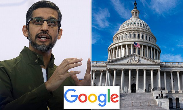 Google CEO to be quizzed by Congress for first time amid user concerns