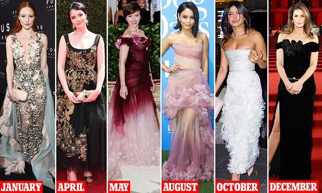 British Fashion Awards: Cindy Crawford wears Marchesa