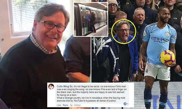 Chelsea fan previously defended yob supporters on Paris Metro