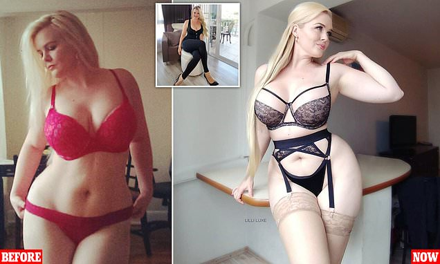 Weight-loss model faced anger from fans who like her better 'plumper'