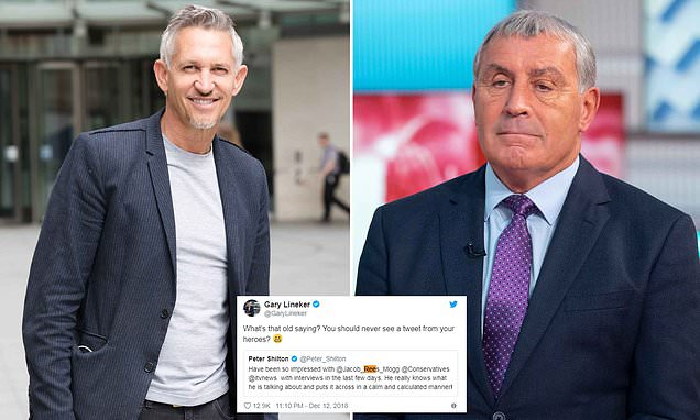 England legends Gary Lineker and Peter Shilton clash over Brexit