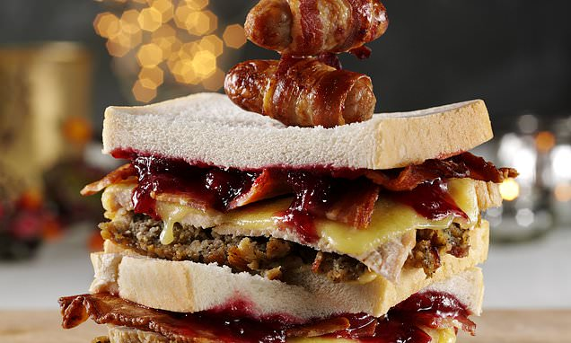 Revealed: Brits' favourite Boxing Day sarnie has turkey and MAYONNAISE