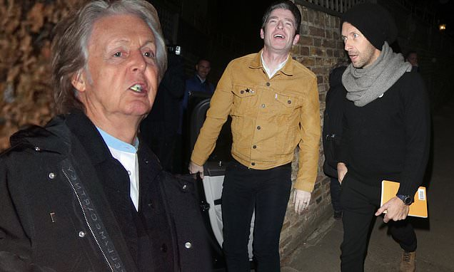 Paul McCartney attendsMick Jagger's party just days home burglary