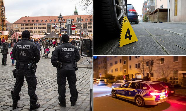 Three women are left fighting for lives in Nuremberg after stabbings
