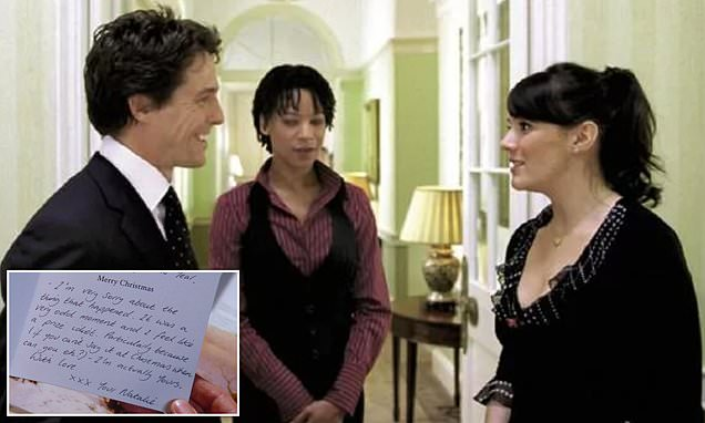 Love Actually writer debunks popular fan theory