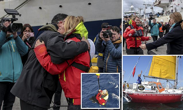 Sailor Susie Goodall would take part in round-the-world race again