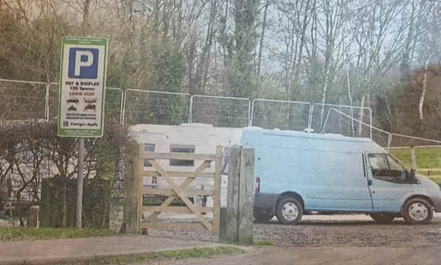 Travellers camped illegally 'should not be moved near to rifle range'