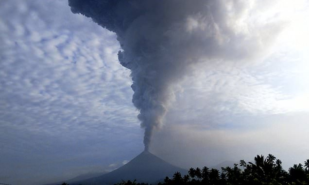 Volcano on Pacific 'Ring of Fire' erupts in Indonesia