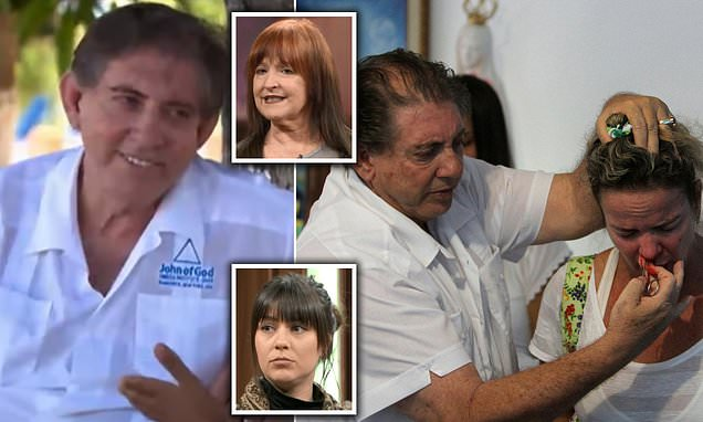 Celebrity faith healer hands himself to police after sex abuse claims